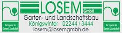 Losem GmbH Garten- und Landschaftsbau, Sportplatz- und Tiefbau