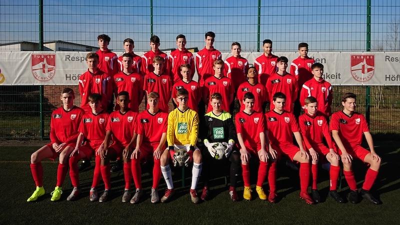 Mannschaftsfoto U17 Saison 2018:19