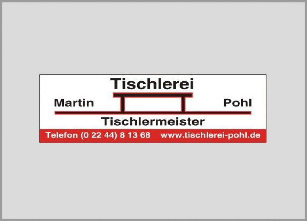 Tischlerei Martin Pohl